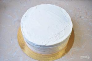 Шоколадный торт с кремом-чиз - фото шаг 10