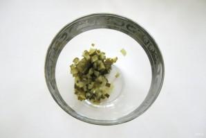Салат из свеклы с зеленым горошком - фото шаг 1