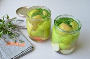 Яблоки в сиропе на зиму - фото шаг 4