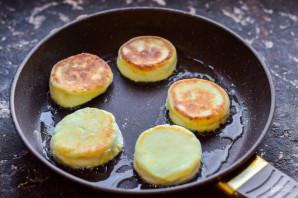 Сырники с кукурузной мукой - фото шаг 5