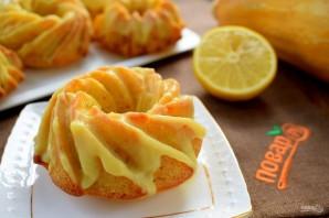 Тыквенные кексы с лимонным кремом - фото шаг 10