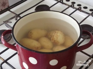 Печеная картошка в духовке - фото шаг 1