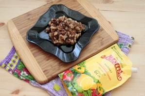 Лучший рецепт фаршированных баклажанов с грибами и майонезом - фото шаг 3