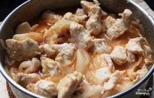 Пирог с курицей, миндалем и корицей - фото шаг 3
