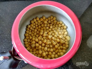 Ливанский хумус - фото шаг 1