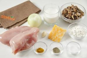 Куриное филе в молочном соусе - фото шаг 1