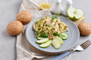 Салат с китайской капустой - фото шаг 6