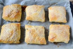 Пирожки с мясом и диким рисом - фото шаг 8