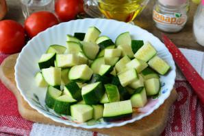 Цукини с помидорами и перцем на зиму - фото шаг 2