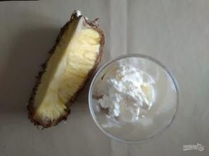Банановое мороженое с ананасом - фото шаг 3