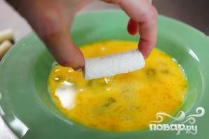 Сыр Моцарелла в панировке - фото шаг 3