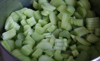Варенье из зеленых яблок - фото шаг 1