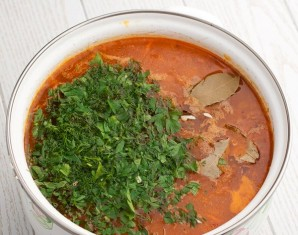 Суп с перловкой и курицей - фото шаг 5