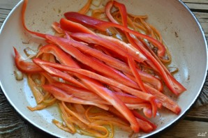 Салат с фунчозой - фото шаг 3