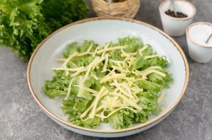 Салат с отварным окунем - фото шаг 4