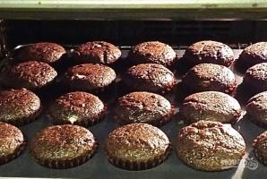 Шоколадные кексы с шоколадом - фото шаг 10