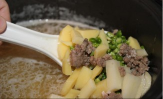 Суп с говяжьим фаршем - фото шаг 2