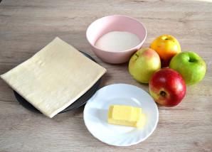 Яблочный татин - фото шаг 1