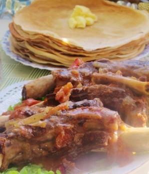 Мясо на кости в мультиварке - фото шаг 6