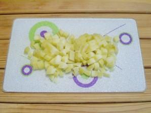 Винегрет рецепт классический с горошком - фото шаг 2