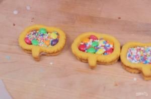 Печенье с сюрпризом на Хэллоуин - фото шаг 5