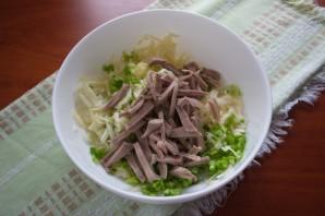 Салат в бокале - фото шаг 3