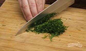 Сырный суп с клецками - фото шаг 1