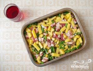 Запеченные свиные ребрышки с овощами - фото шаг 5