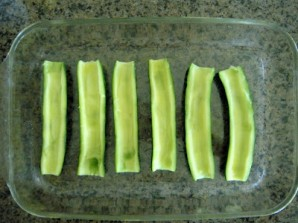 Кабачки, запеченные в духовке, постные - фото шаг 1