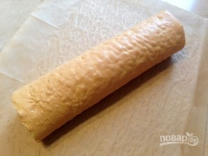 Торт из яблочного рулета - фото шаг 7