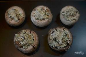 Вегетарианские фаршированные грибочки - фото шаг 5