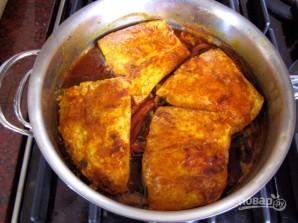 Рыба с соусом по-мароккански - фото шаг 3