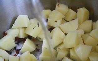 Вешенки с плавленым сыром - фото шаг 3