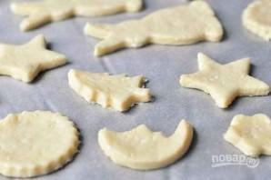 Рождественское печенье из творожного теста - фото шаг 7