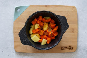 Морковный суп на кокосовом молоке