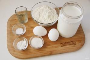 Налистники на молоке - фото шаг 1