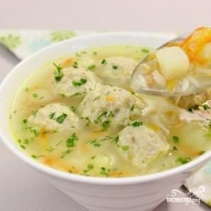 Домашний суп с фрикадельками - фото шаг 5