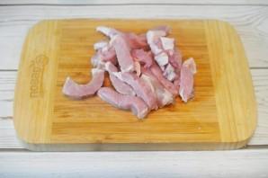 Свинина с паприкой - фото шаг 1