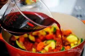 Овощное рагу с вином - фото шаг 3