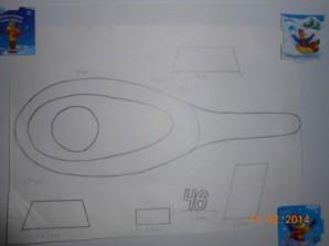"""Торт """"Вертолет"""" - фото шаг 2"""
