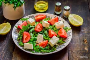 Салат с рукколой и брынзой - фото шаг 4
