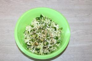 Хрустящий зелёный салат - фото шаг 7