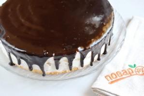 Праздничный торт с творожным кремом - фото шаг 13
