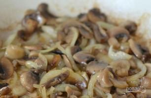 Слоеный пирог с грибами - фото шаг 2