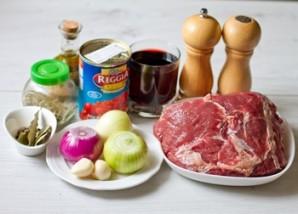 Стифадо из говядины - фото шаг 1