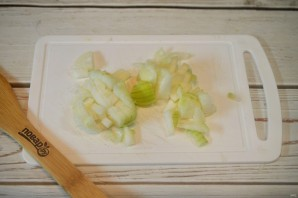 Свинина с овощами по-болгарски - фото шаг 3