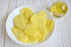 Домашние картофельные чипсы - фото шаг 3