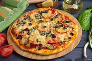 Лучший рецепт домашней пиццы - фото шаг 9