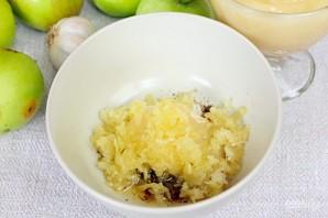 Утка в рукаве с яблоками, чесноком и медом - фото шаг 4