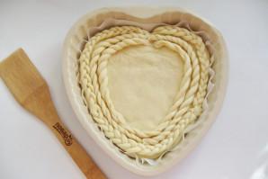 Дрожжевой пирог со сливами - фото шаг 11